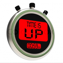 YOUR TIME IS UP!